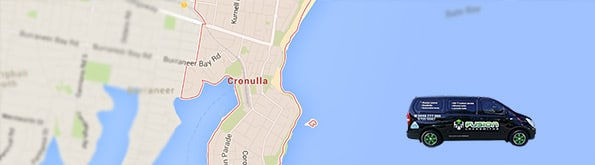 Locksmith service map for Cronulla