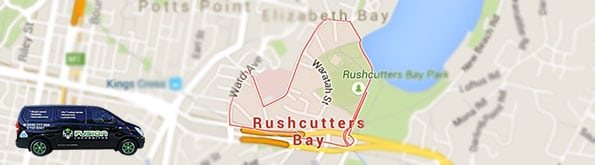 Our locksmith service covers all of Rushcutters Bay