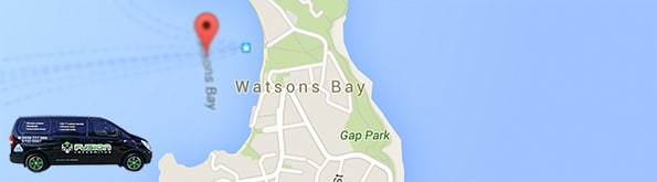 Locksmith service area for Watsons Bay