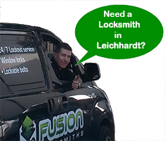 Josh in Fusion Locksmith Van in Leichhardt
