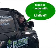 Mobile locksmith service in Lilyfield