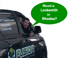 We have you covered with Locksmith services in Rhodes