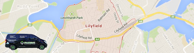 We provide 24 hour service to all of Sydney's Lilyfield