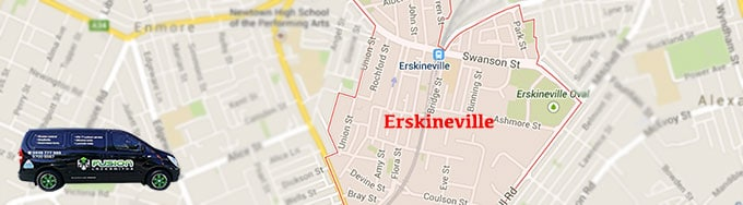 Our locksmith service covers Erskineville