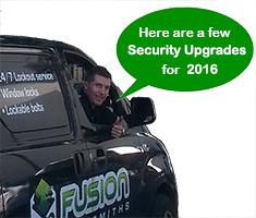 security upgrades for 2016 from Fusion Locksmiths